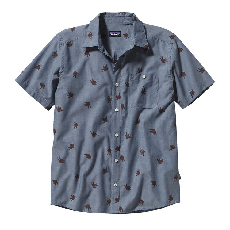 M'S GO TO SHIRT, Agave: Glass Blue (AGVB)