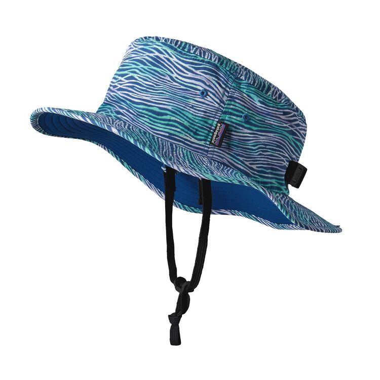ガールズ・トリム・ブリム・ハット, Reef Waves: Superior Blue (RWSP)