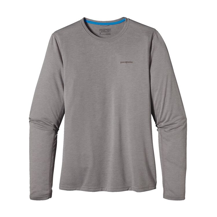 M'S L/S NINE TRAILS SHIRT, Drifter Grey (DFTG)