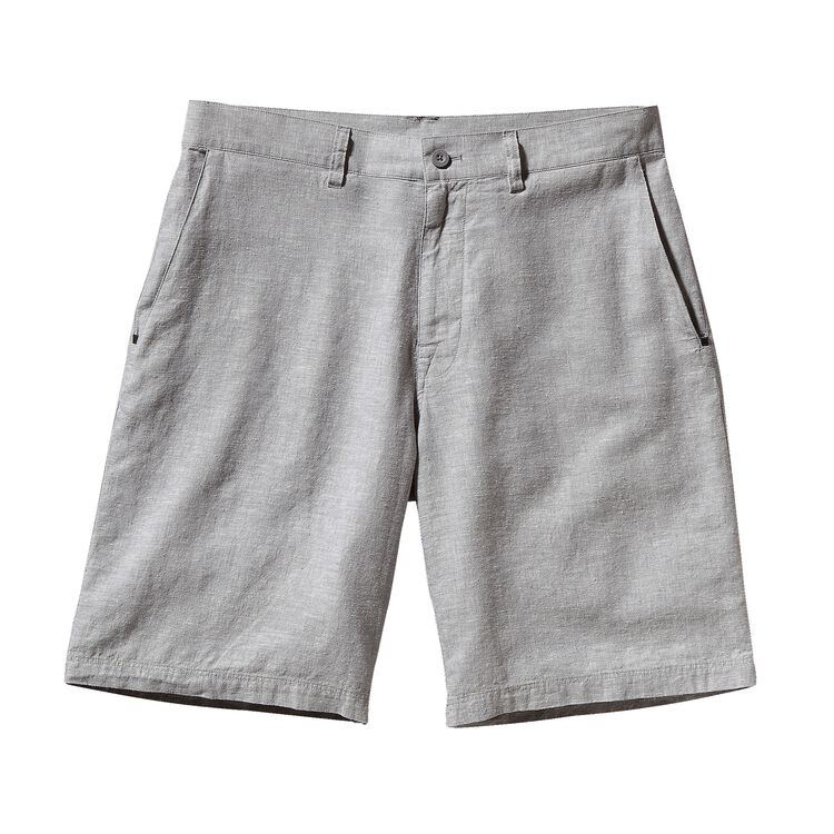 M'S BACK STEP SHORTS - 10 IN., Chambray: Feather Grey (CHFG)