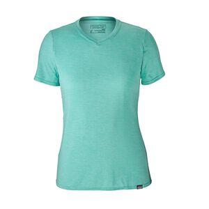 W's Capilene® Daily T-Shirt, Strait Blue - Bend Blue X-Dye (SBDX)
