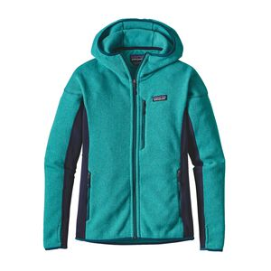 W'S PERFORMANCE BETTER SWEATER HOODY, Epic Blue (EPCB)