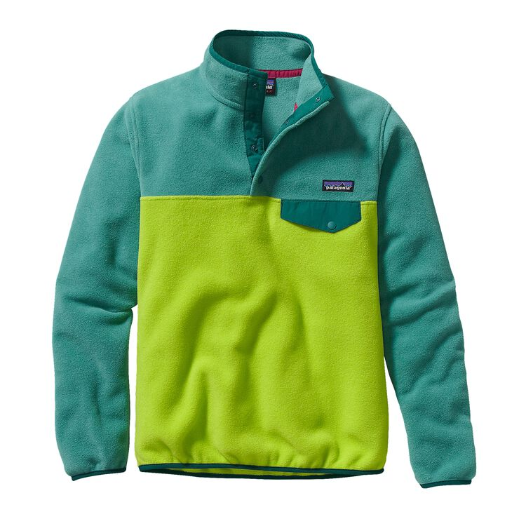 W'S LW SYNCH SNAP-T P/O, Peppergrass Green (PSS)