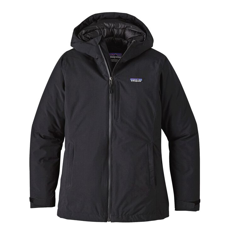 W'S WINDSWEEP DOWN HOODY, Black (BLK)