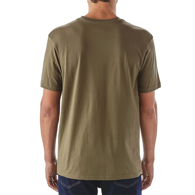 メンズ・GPIWキャンプ・コットン・Tシャツ,