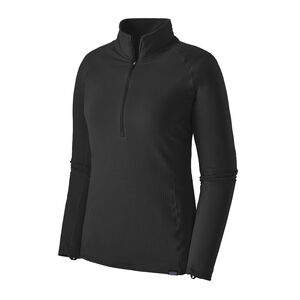 W's Capilene® Thermal Weight Zip-Neck, Black (BLK)