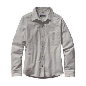 ウィメンズ・ロングスリーブ・アイランド・ホッパーII・シャツ, Dusty: Tailored Grey (DSTG)