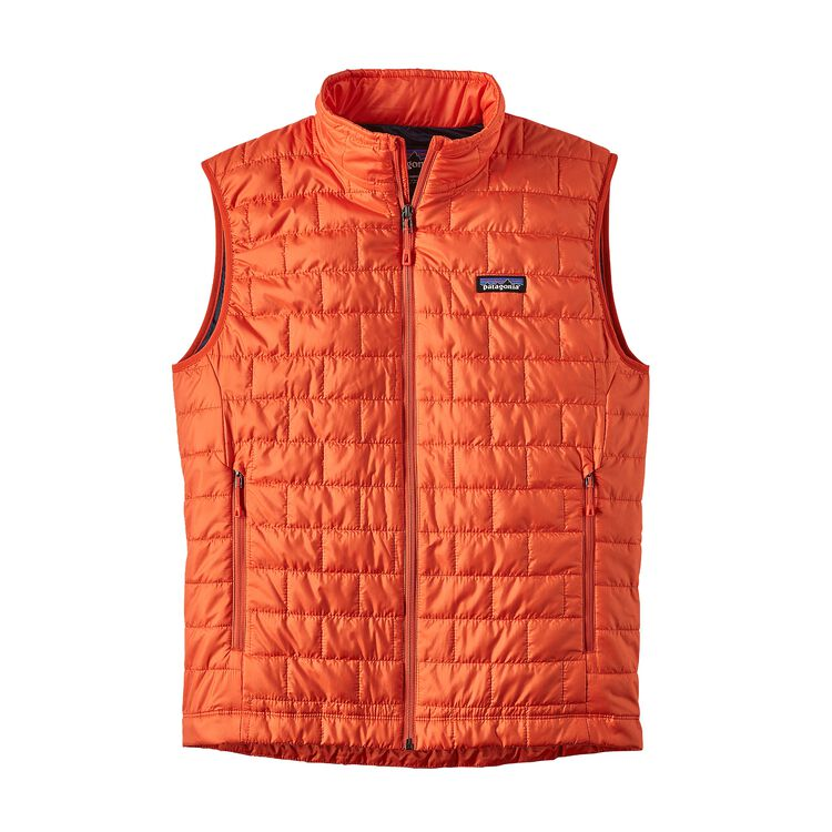M'S NANO PUFF VEST, Paintbrush Red (PBH)
