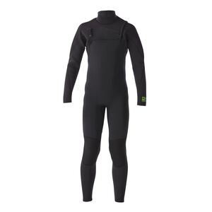 Kid's R2® Yulex™ Front-Zip Full Suit, Black (BLK)