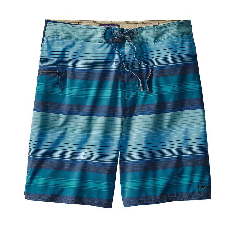 メンズ・ストレッチ・プレーニング・ボードショーツ(51cm), Blanket Stripe: Big Sur Blue (BSGB)