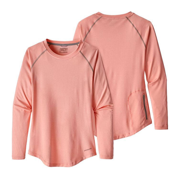 W'S TROPIC COMFORT CREW, Feather Pink (FEAP)