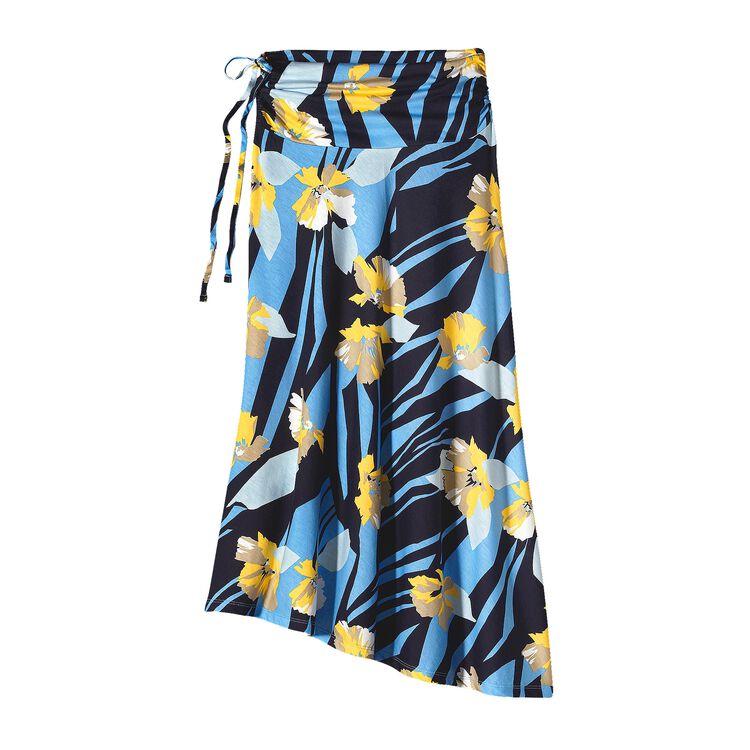 ウィメンズ・カマラ・スカート, Abstract Floral: Skipper Blue (ASIB)