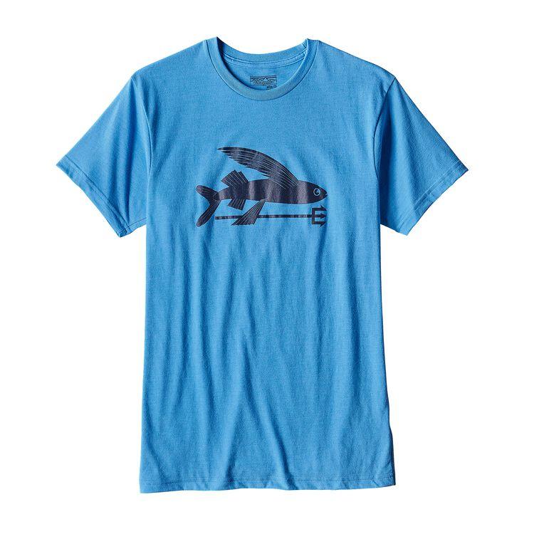 メンズ・フライング・フィッシュ・コットン/ポリ・Tシャツ, Radar Blue (RAD)