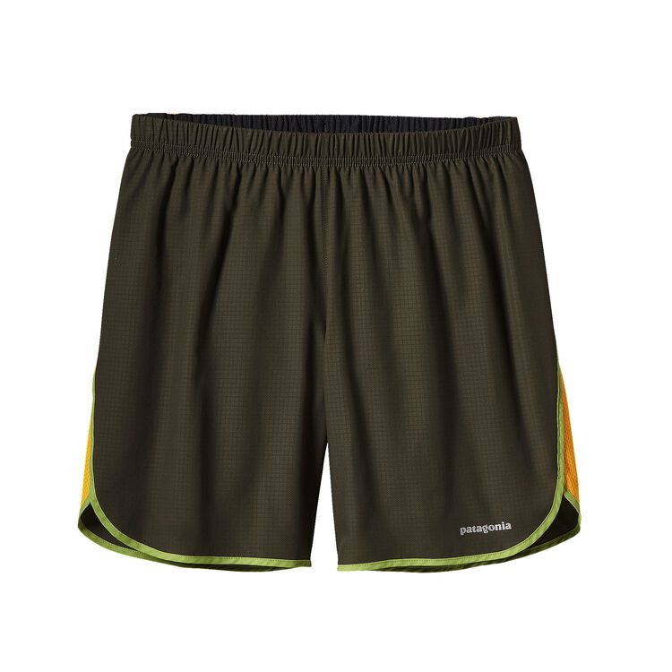 M'S STRIDER SHORTS - 7 IN., Tumalo Grid: Kelp Forest (TMKP)