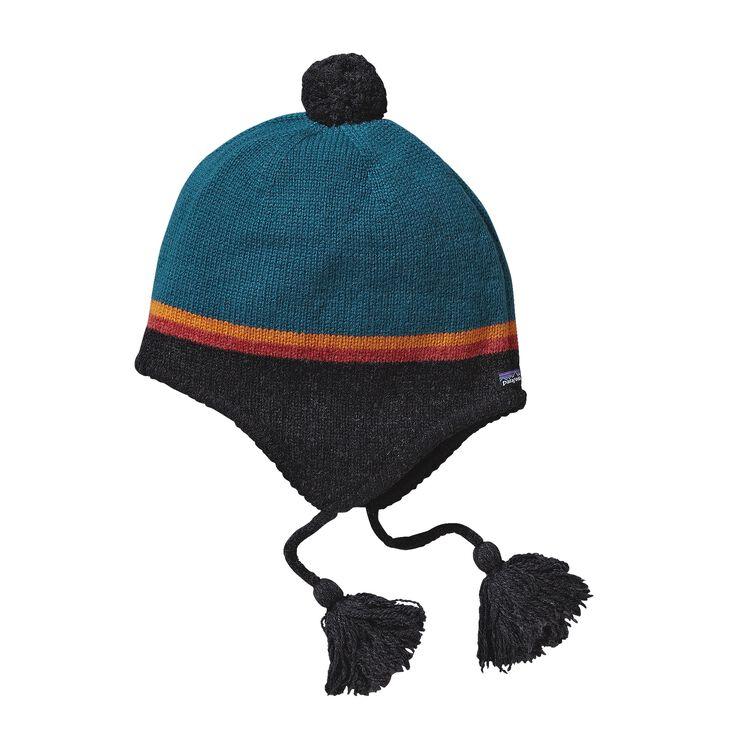 K'S WOOLY HAT, Skyline Stripe: Black (SYBK)