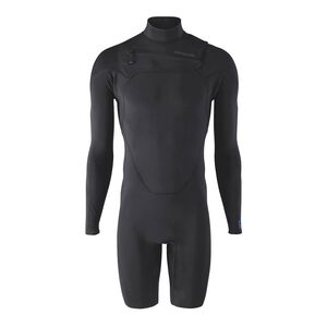 M's R1® Lite Yulex™ Front-Zip Long-Sleeved Spring Suit, Black (BLK)
