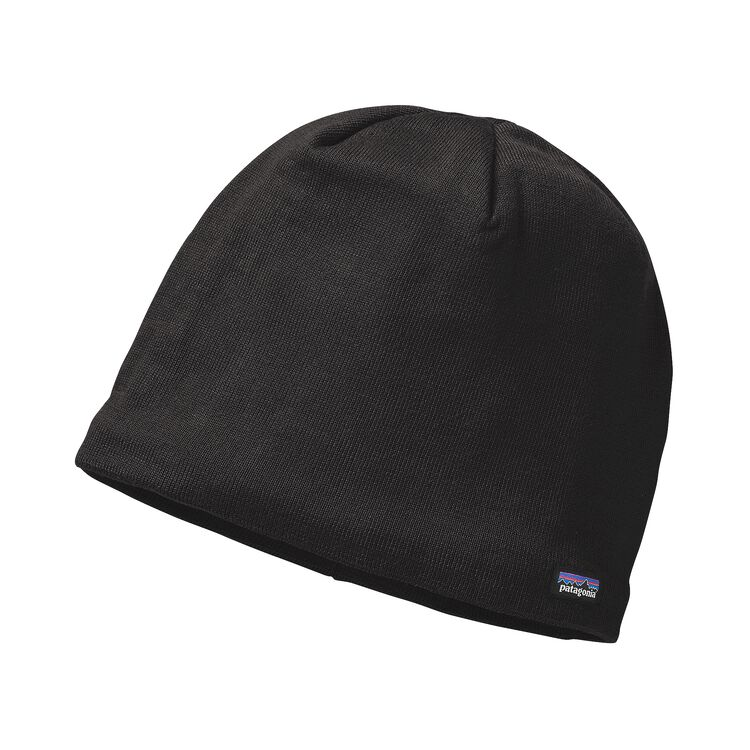LINED BEANIE, Black (BLK)