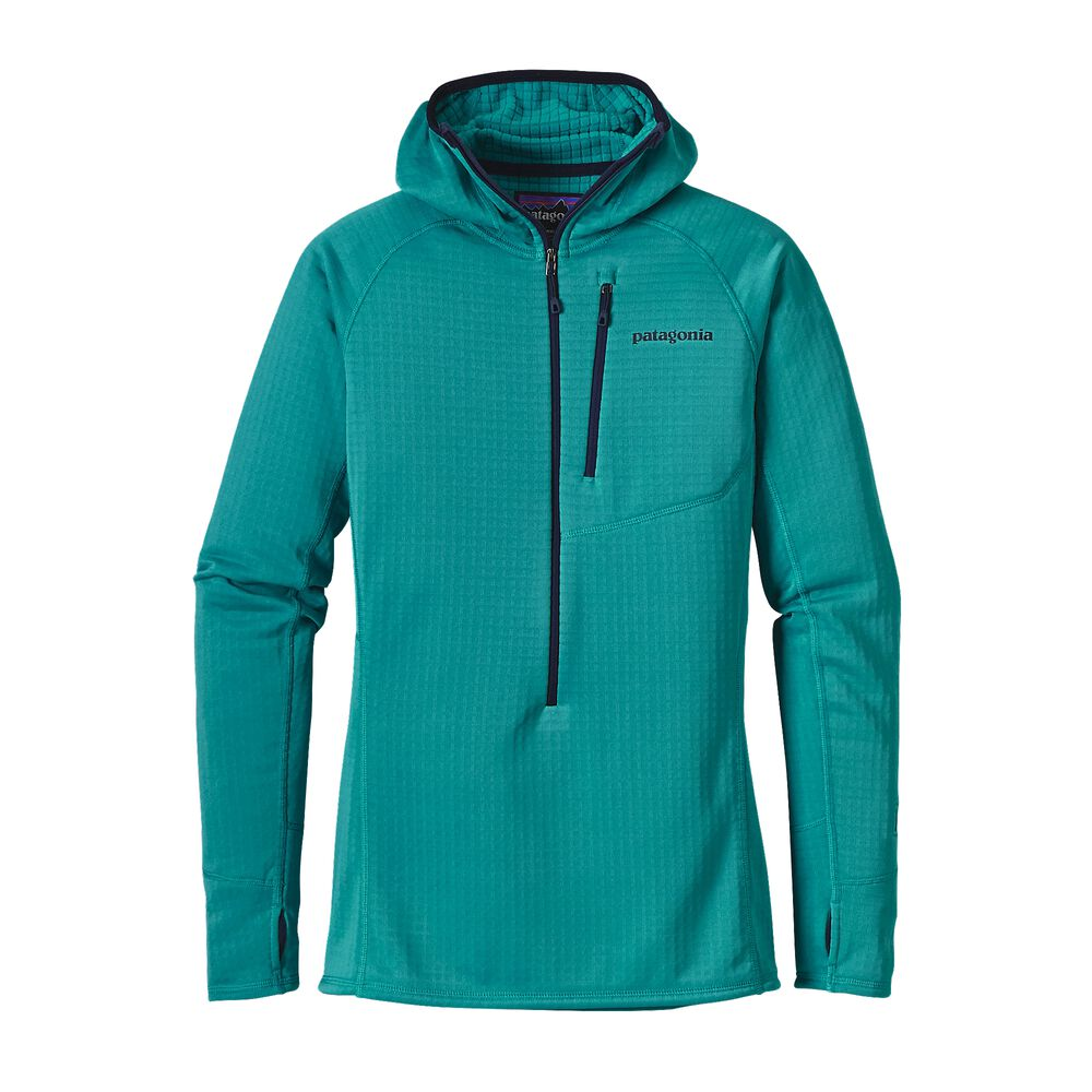 photo: Patagonia Women's R1 Hoody fleece top