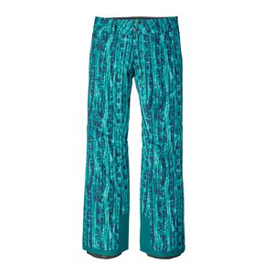 W's Insulated Snowbelle Pants - Regular, Go With The Flow: Elwha Blue (GWFE)
