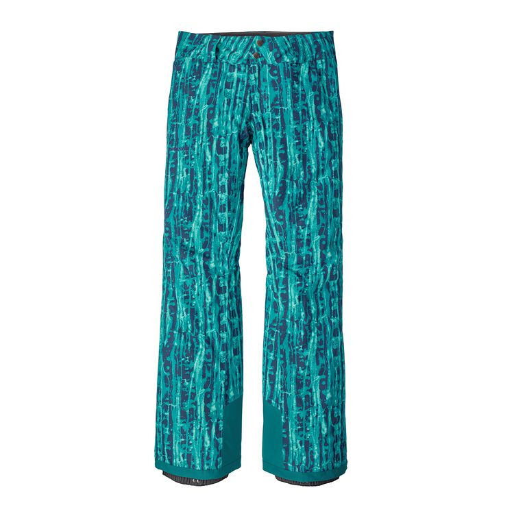 W'S INSULATED SNOWBELLE PANTS - REG, Go With The Flow: Elwha Blue (GWFE)