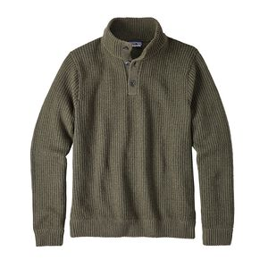 M's Off Country Pullover Sweater, Industrial Green (INDG)