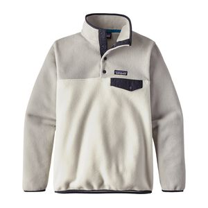 W's Lightweight Synchilla® Snap-T® Pullover, Birch White (BCW)