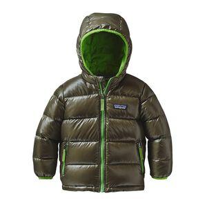 Baby Hi-Loft Down Sweater Hoody, Industrial Green (INDG)