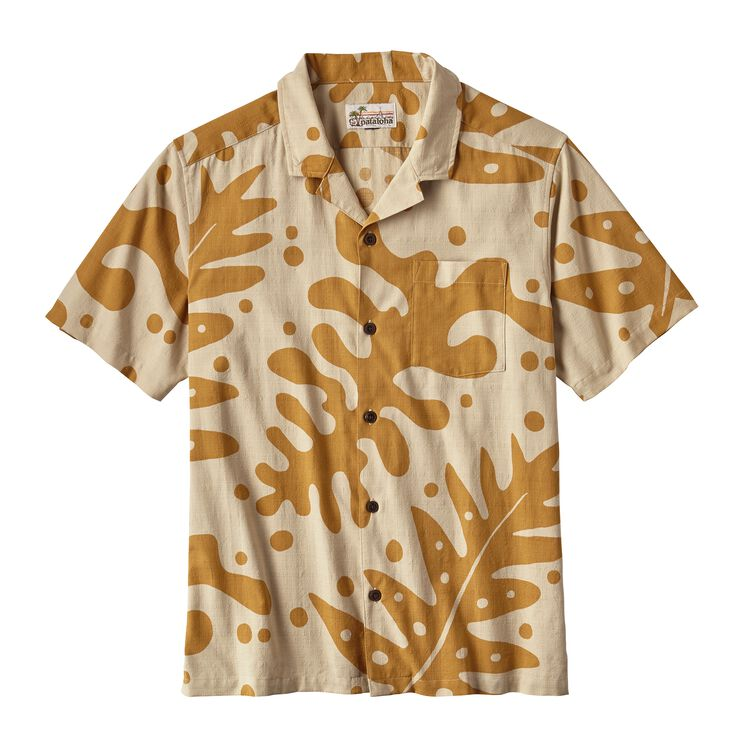 M'S PATALOHA SHIRT, Ferns: Oaks Brown (FNOB)