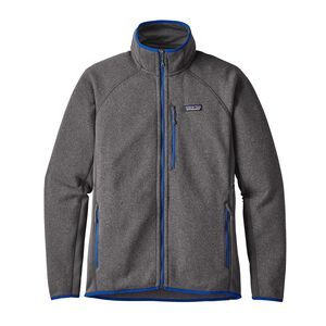M's Performance Better Sweater™ Fleece Jacket, Forge Grey w/Viking Blue (FGVK)