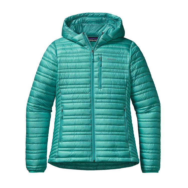 W'S ULTRALIGHT DOWN HOODY, Howling Turquoise (HWLT)