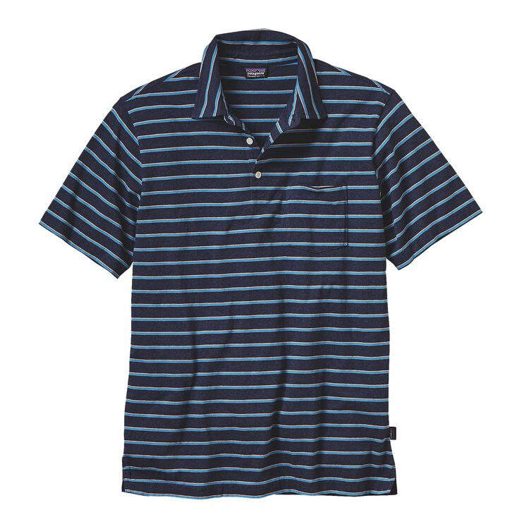 M'S SQUEAKY CLEAN POLO, Daybreak: Navy Blue (DYNV)