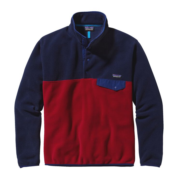 M'S LW SYNCH SNAP-T P/O, Classic Red w/Navy Blue (CRNV)