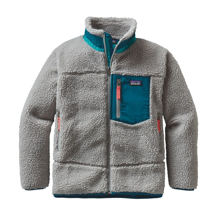 GIRLS' RETRO-X JKT, Drifter Grey (DFTG)