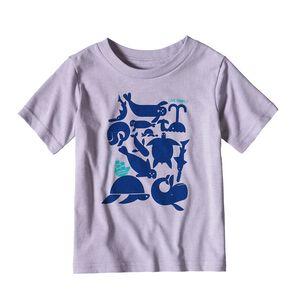 ベビー・リブ・シンプリー・シー・バズ・コットン/ポリ・Tシャツ, Petoskey Purple (PSKP)