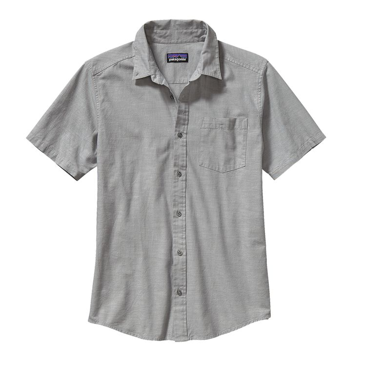 M'S BLUFFSIDE SHIRT, Chambray: Feather Grey (CHFG)