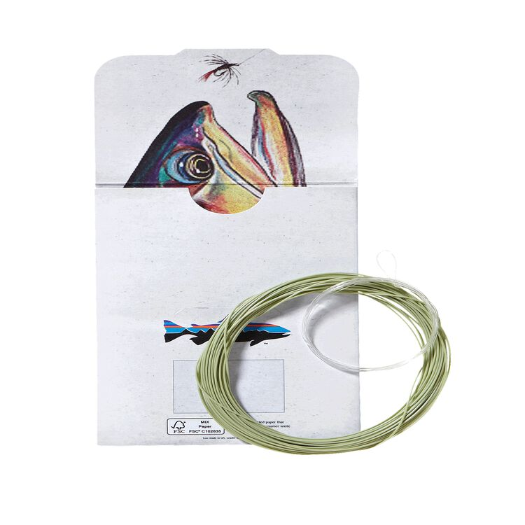 "Simple Fly Fishing Fly Line and Leader 15' for 8' 6"" Rod,"