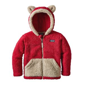 Baby Furry Friends Hoody, Classic Red (CSRD)