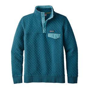 W's Organic Cotton Quilt Snap-T® Pullover, Elwha Blue (ELWB)