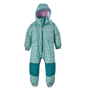 Baby Snow Pile One-Piece, Sockeye Scales: Strait Blue (SOSB)