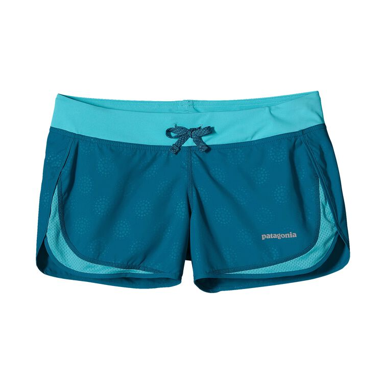 W'S STRIDER SHORTS, Droplets: Underwater Blue (DPUW)