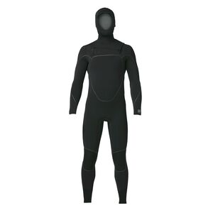 M's R5® Yulex™ Front-Zip Hooded Full Suit, Black (BLK)