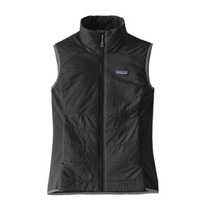 W'S NANO-AIR LIGHT HYBRID VEST, Black (BLK)