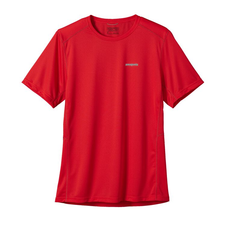 M'S S/S FORE RUNNER SHIRT, French Red (FRR)