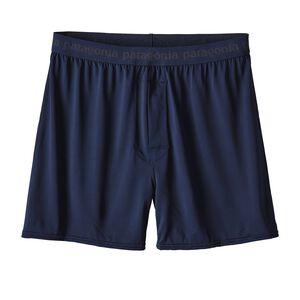 M's Capilene® Daily Boxers, Navy Blue (NVYB)