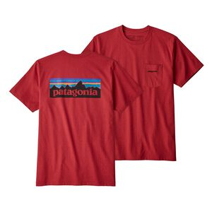 M's P-6 Logo Pocket Responsibili-Tee®, Static Red (STTR)