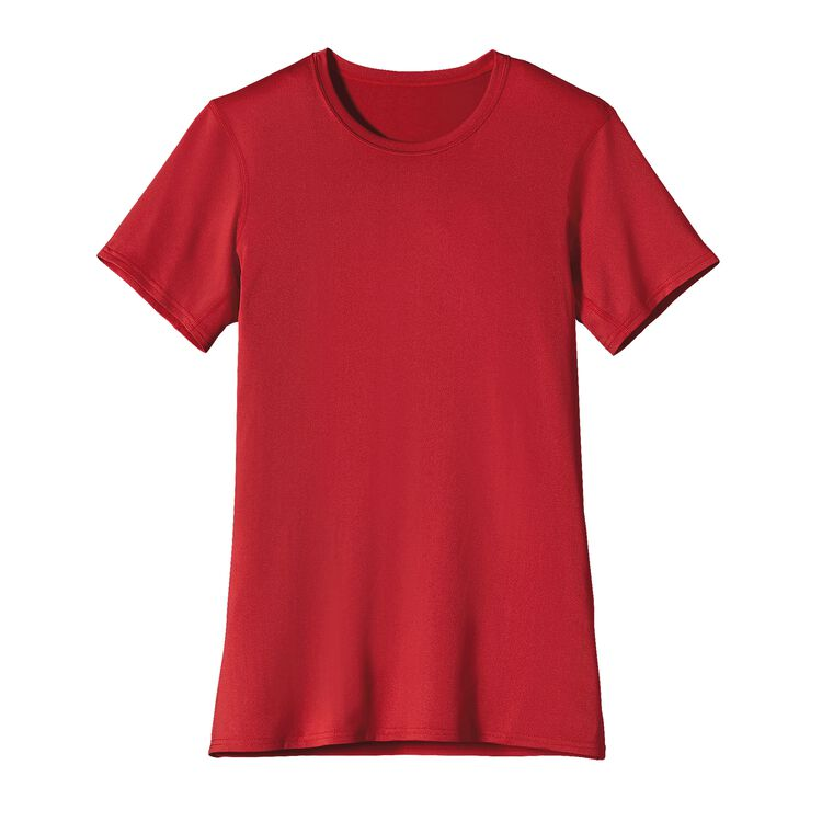W'S CAP TEAM T-SHIRT, Crimson (CRI)