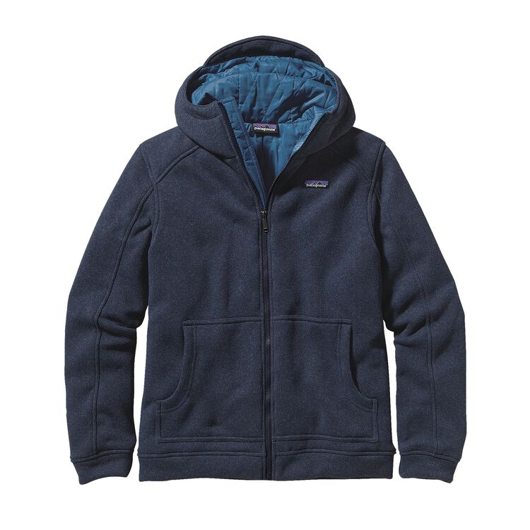 M'S INSULATED BETTER SWEATER HOODY, Classic Navy w/Glass Blue (CNGB)