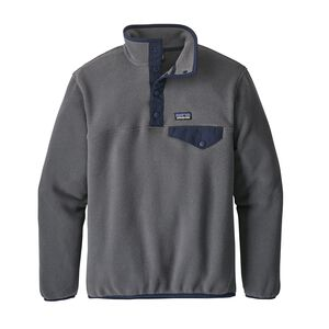 Boys' Lightweight Synchilla® Snap-T® Fleece Pullover, Forge Grey (FGE)