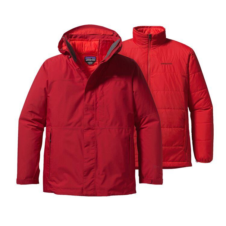 M'S 3-IN-1 SNOWSHOT JKT, Classic Red (CSRD)