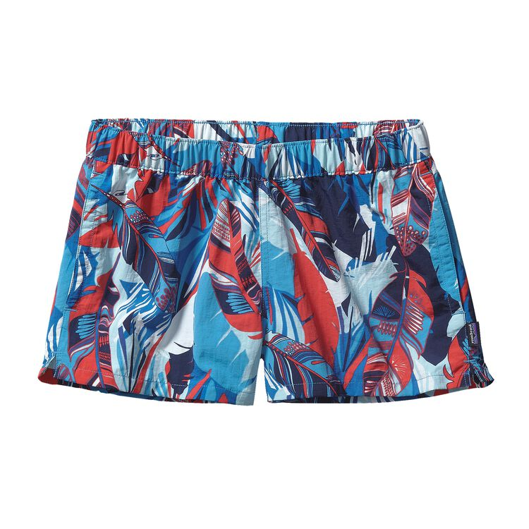 W'S BARELY BAGGIES SHORTS, Wild Paradise: Catalyst Blue (WCTB)